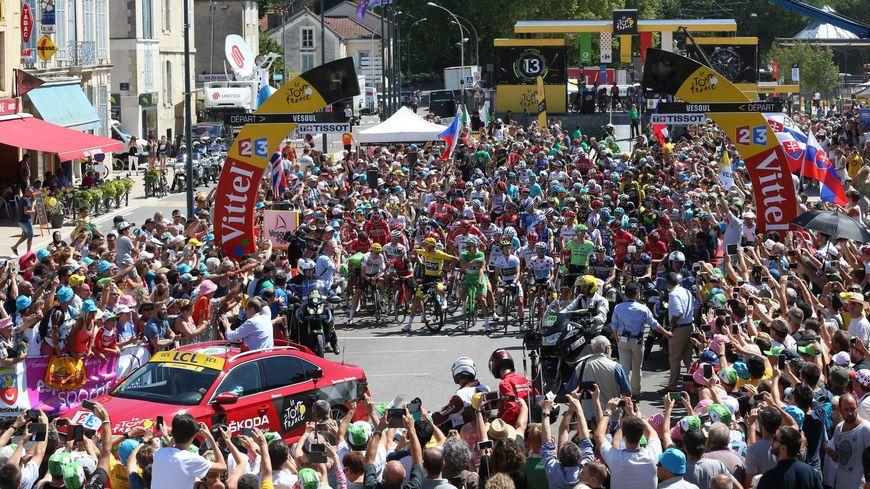 Le Tour de France.