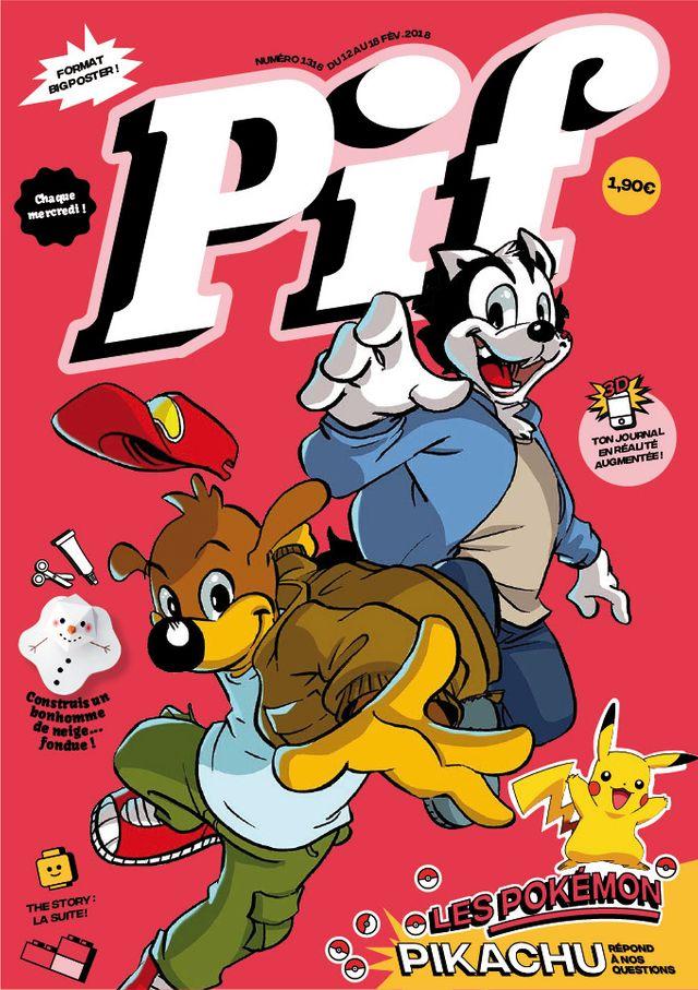 Couverture du futur Pif