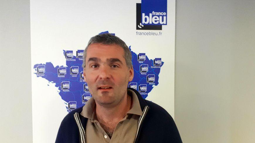 Manu Reynaud, porte-parole EELV à Montpellier