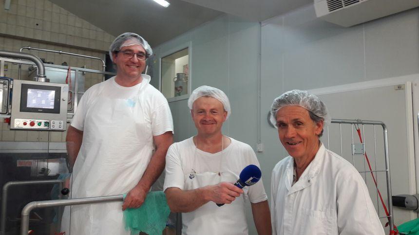 Jean-François, Jean-Jacques et Pierre