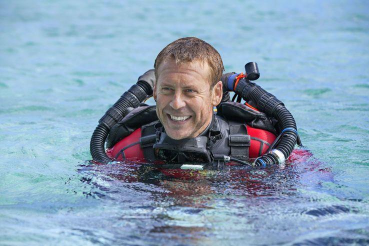 Laurent Ballesta, lors d'une plongée