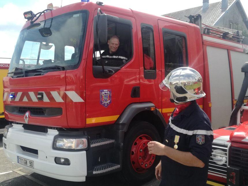 """Les pompiers du Territoire de Belfort (ici lors de leur congrès départemental à Montreux-Château) ne veulent pas servir de """"taxi"""""""
