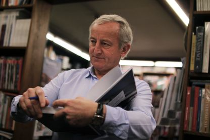 Yann Queffelec, écrivain, le 21 novembre 2015 à Nantes