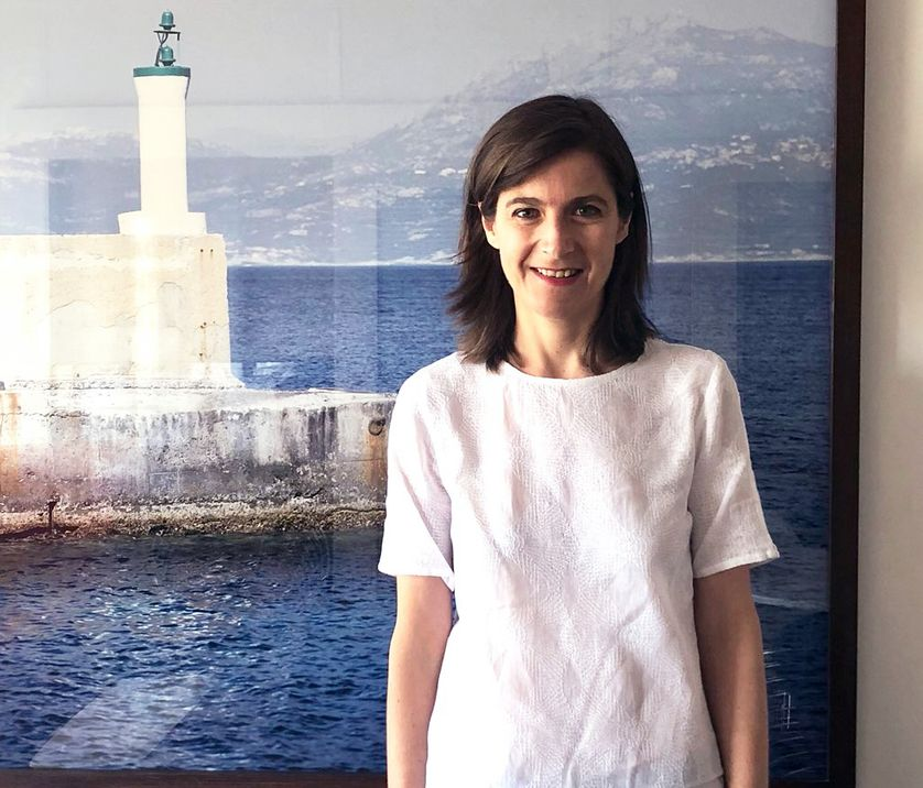 Pascale Tournier, le 22 juin 2018