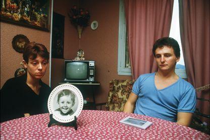 Christine et Jean-Marie Villemin, les parents du petit Grégory, en novembre 1984