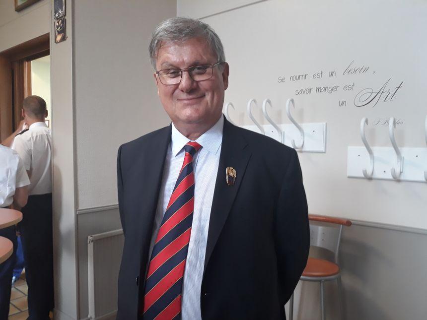 Xavier Le Roy, président de l'Amicale des cadets de la Garde - Radio France