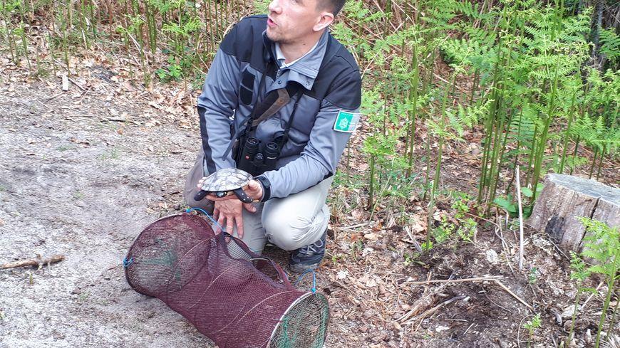 Paul Léziacq, guide naturaliste à la réserve naturelle de l'étang noir