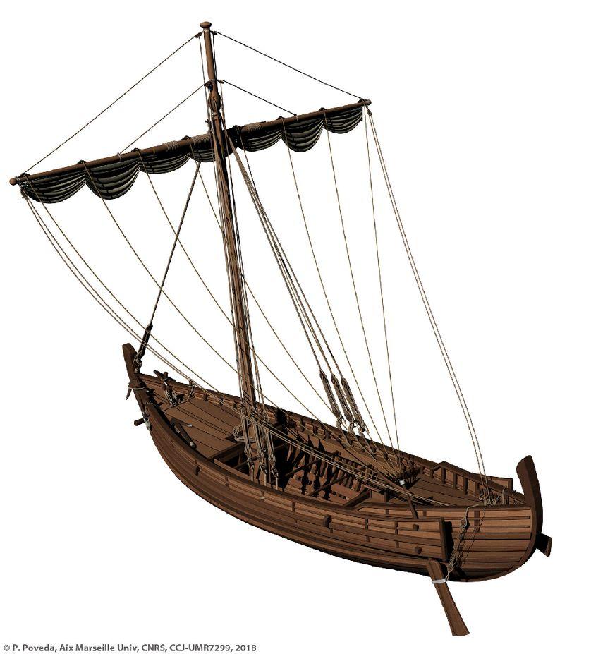 Restitution du navire Napoli A, fin Ier s. ap. J.-C.