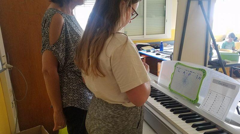 Les élèves participent à l'atelier toute l'année.