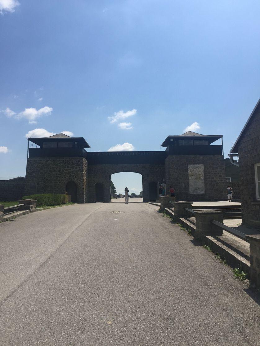 Entrée du Camp de Mauthausen
