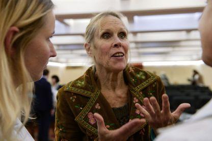 Carolyn Carlson le 20 septembre 201 à Moscou