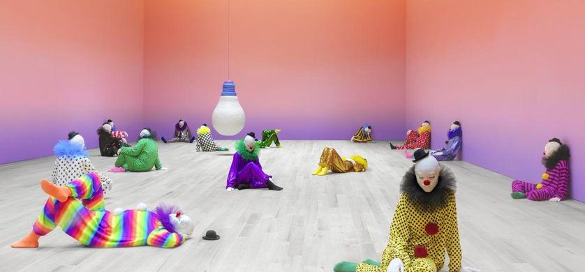Ugo Rondinone, Vocabulary of Solitude, 2016, Courtesy de Galerie Eva Presenhuber, Zurich ; Gladstone Gallery, New York et Bruxelles ; Sadie Coles HQ, Londres ; kamel mennour, Paris/Londres