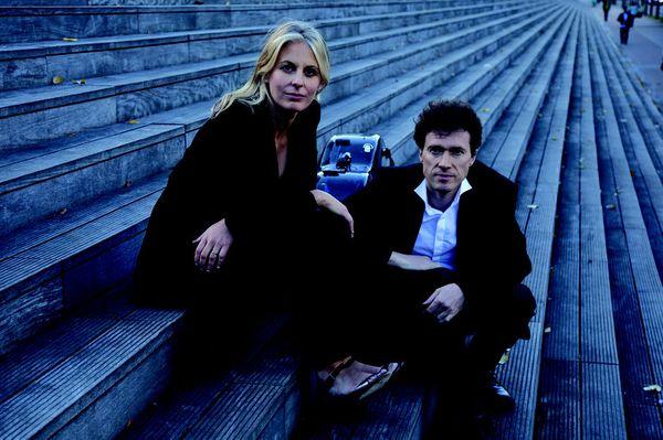Claire-Marie Le Guay et François Salque © Carole Bellaiche
