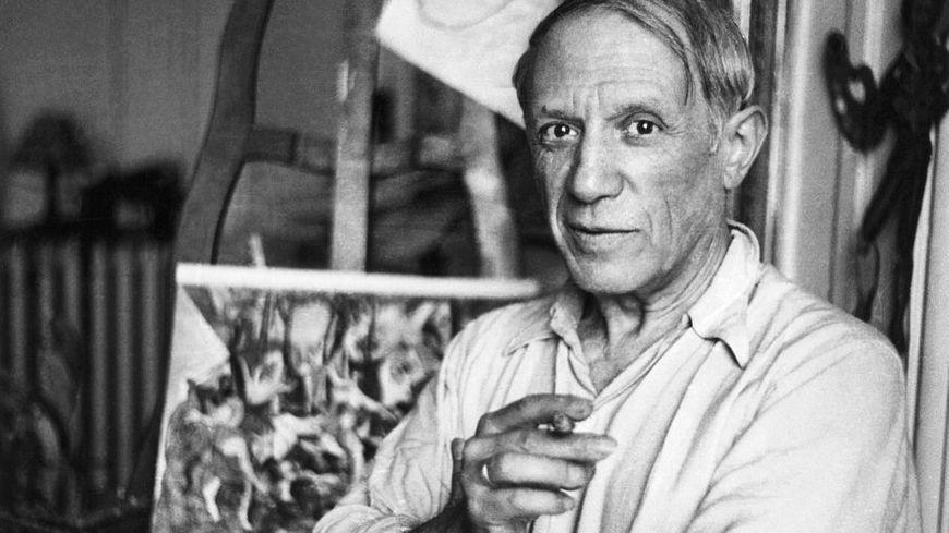 Pablo Picasso à Paris.