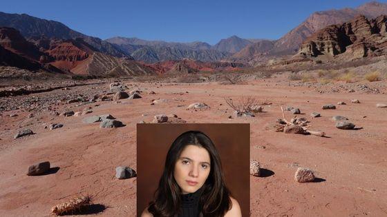 Analia Llugdar et désert du nord ouest de  l'Argentine