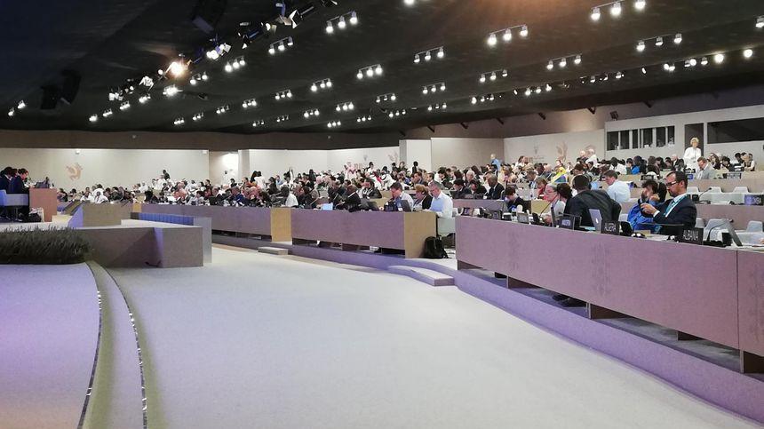 La séance plénière de l'UNESCO à Manama