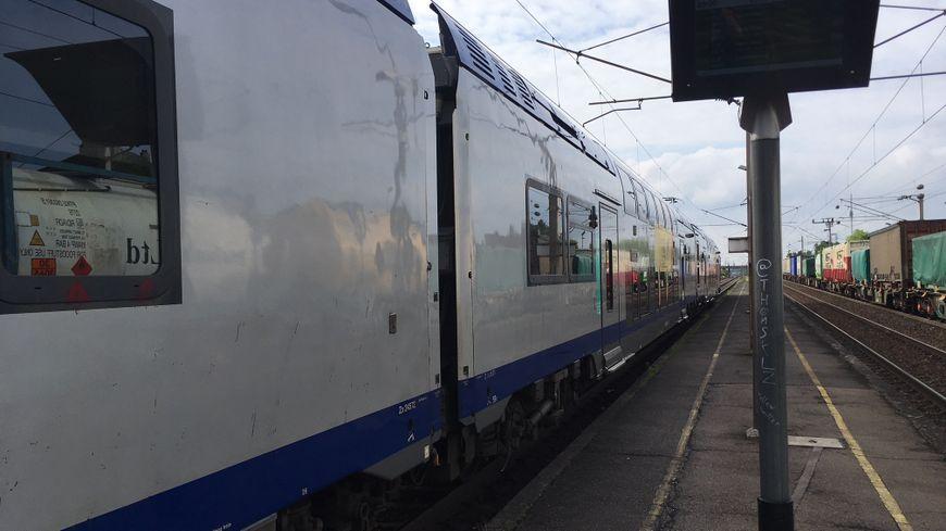 Un TER de la ligne Metz-Thionville-Luxembourg