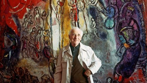 """Marc Chagall : """"Je suis souriant mais je suis plein d'inquiétude"""""""