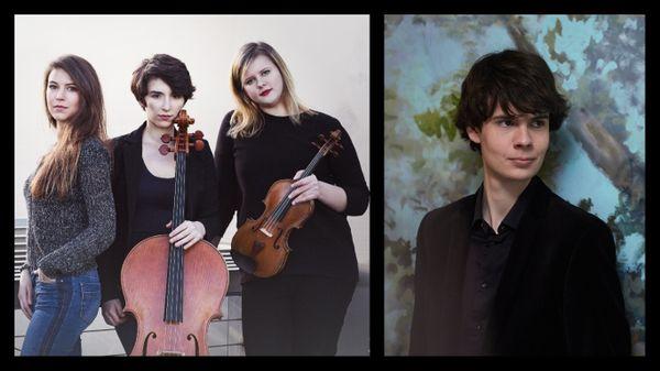 Le Trio Sōra en tournée / Deuxième album dédié à Scarlatti et Ligeti pour le claveciniste Justin Taylor