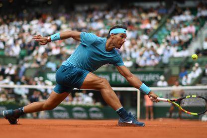 Rafael Nadal à Roland Garros en 2018