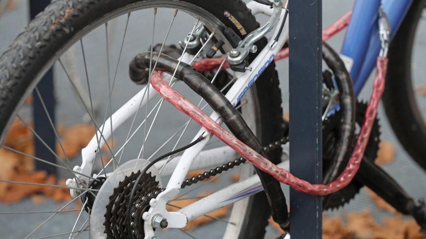 Il y a environ 650 plaintes pour vol de vélo à Tours chaque année.