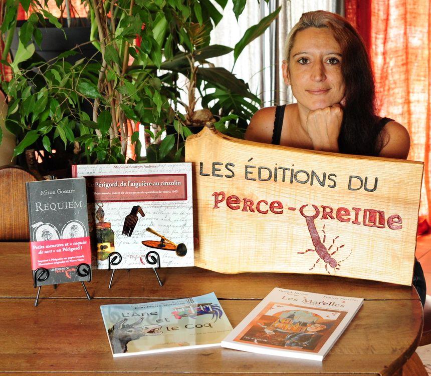 Estelle AUDIVERT la fondatrice.