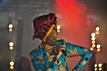 Fatoumata Diawara aux Francofolies en 2017