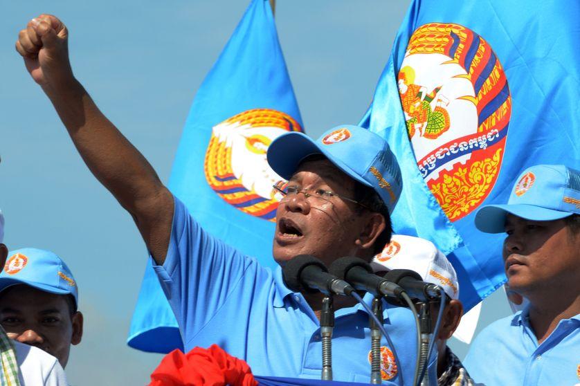 Le Premier Ministre cambodgien Hun Sen est au pouvoir depuis maintenant 33 ans