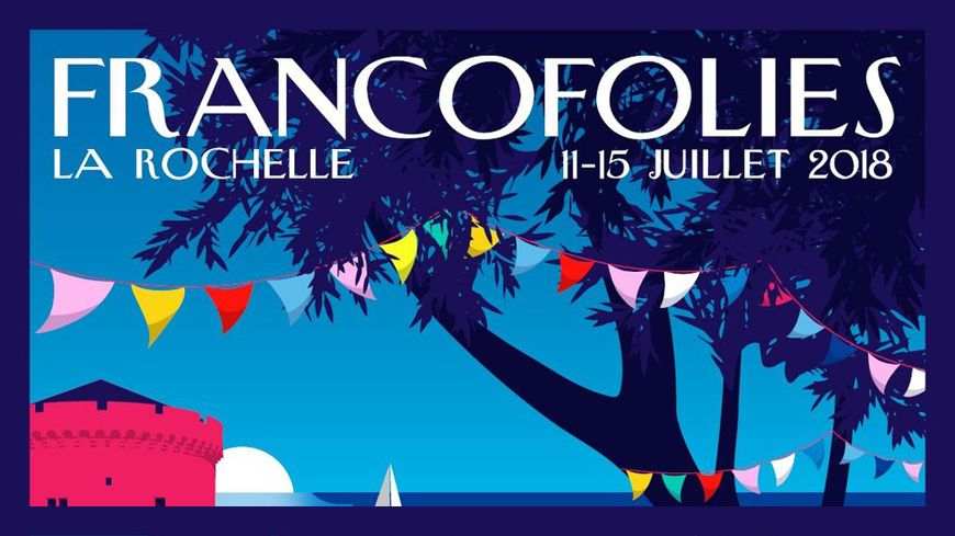 FrancoFOLIES 2018 - Affiche