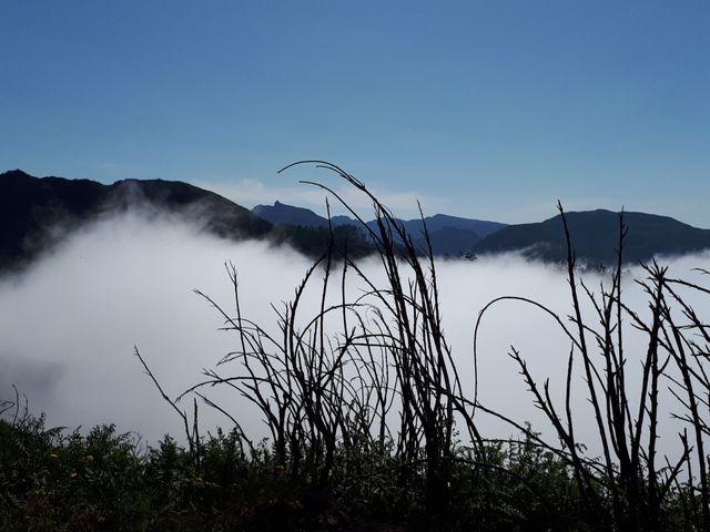 Au dessus des nuages une nature sauvage préservée