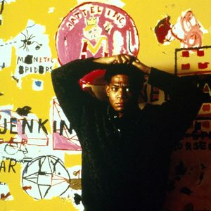 Jean-Michel Basquiat en 1987