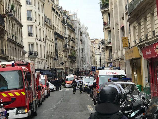 Le secteur est complètement bouclé. - Radio France