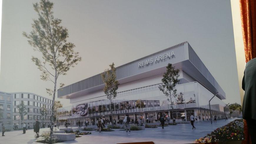 La future salle événementielle de Reims en 2021