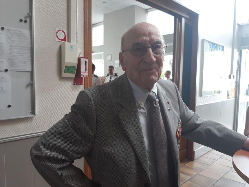 Pierre Bur, ancien élève de l'école de la Garde - Radio France