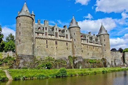 Château fort médiéval de Josselin dans le Morbihan