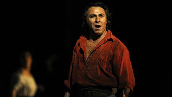 Roberto Alagna dans Le Trouvère de Verdi (Londres, 2009)