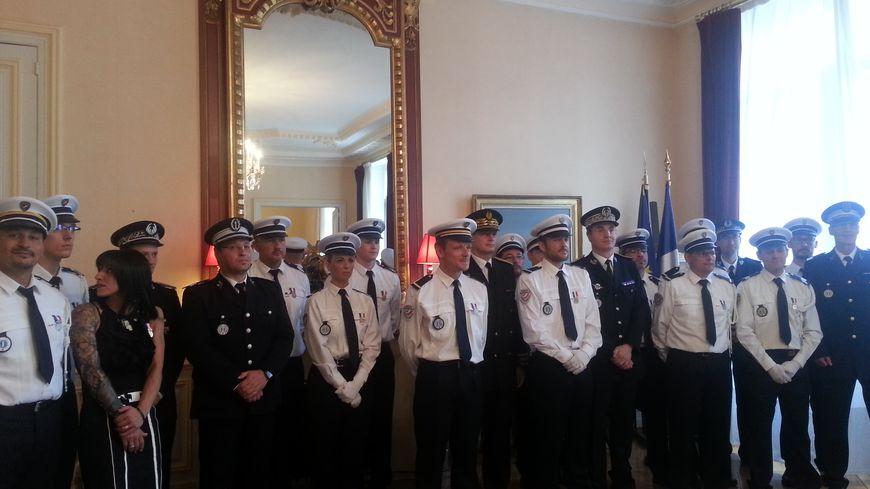 14 policiers médaillés à la préfecture de Meurthe-et-Moselle pour acte de courage et de dévouement