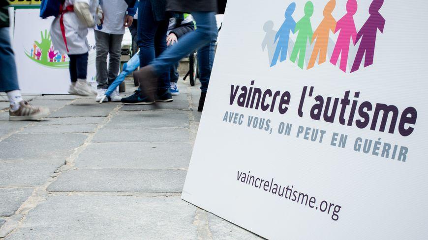 Illustration Marche pour l'autisme en Mars 2013