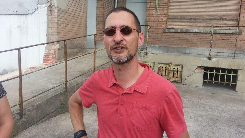 Jean Catineau, gérant de la maison de la presse de Vierzon.