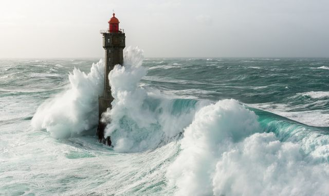 Le phare de la Jument (Bretagne)