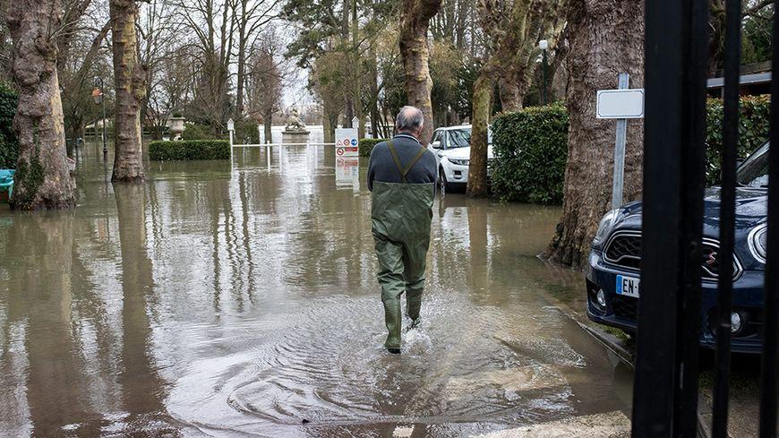 Inondation en Ile-de-France.