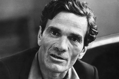 Pier Paolo Pasolini (1922 - 1975), ici en 1970