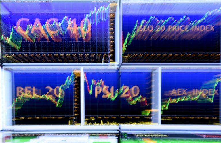 Des places financières de plus en plus nerveuses en Europe.