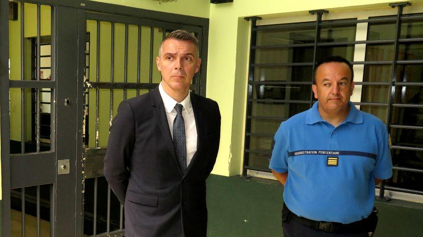 Jean François Césarini (LREM) a visité le centre pénitentiaire du Pontet - Aucun(e)