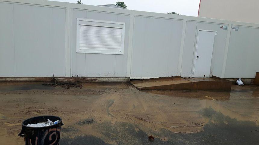 La garderie muncipale a été fermée après la coulée de boue