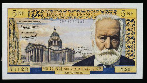 L'année 1960 (1/4) : 1er janvier, création du nouveau franc