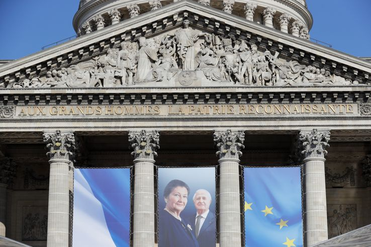 Simone et Antoine Veil sont le troisième couple qui reposera au Panthéon, non loin de Jean Moulin et du fondateur de l'Europe, Jean Monnet.