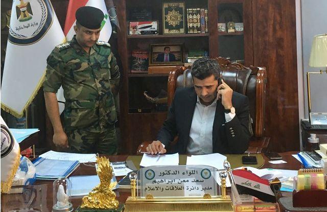 """Le général Saad Maan, porte-parole du ministre de l'intérieur irakien : """"Les djihadistes sont des ennemis"""""""