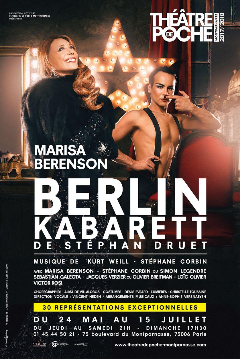 Berlin Kabarett, Stéphan Druet (du 24 mai au 15 juillet)