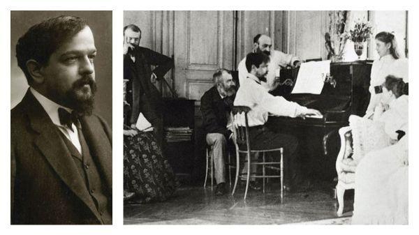 France Musique célèbre Debussy... Par Philippe Venturini : Impressions pianistiques (2/8)
